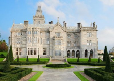 Adare Manor slim glazing heritage and listed building