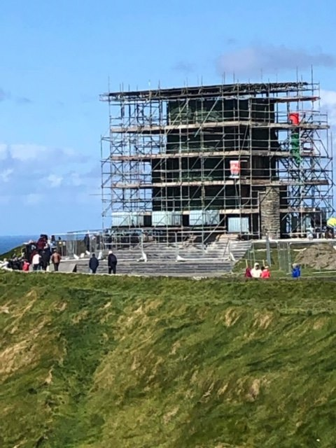 Recent refurbishment of O'Brien's Tower, the landmark building that st…